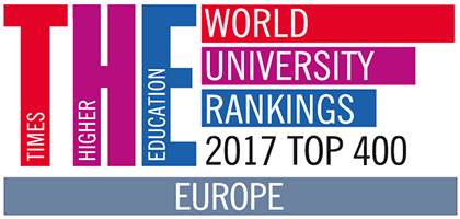 Times Higher Education (THE) Best Universities in  Europe